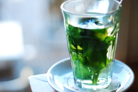 Fresh Mint Tea - Copyright LosAngelas