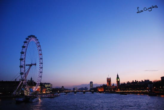 London - London Eye by LosAngelas