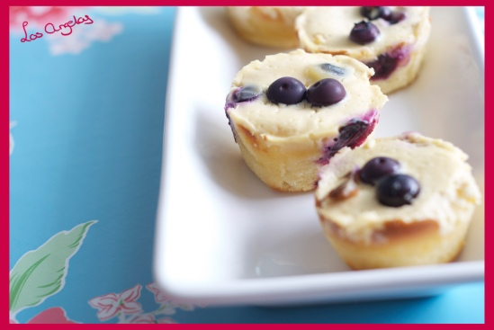 Blueberry Lemon Cheesecakes 5 - Copyright LosAngelas