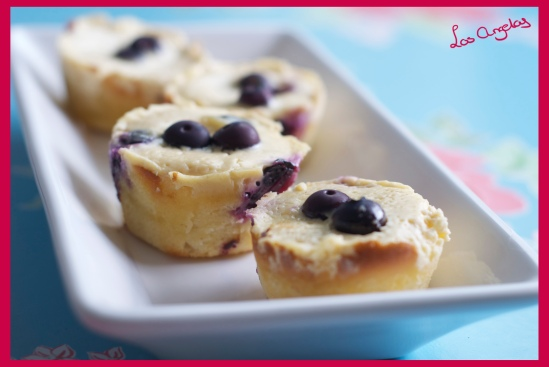 Blueberry Lemon Cheesecakes 6 - Copyright LosAngelas