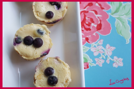 Blueberry Lemon Cheesecakes 8 -Copyright LosAngelas
