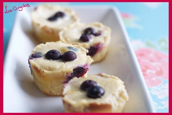 Blueberry Lemon Cheesecakes llll - Copyright LosAngelas