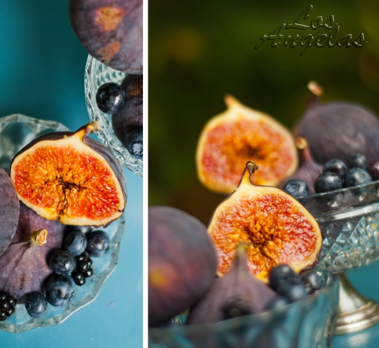 food photography figs and berries