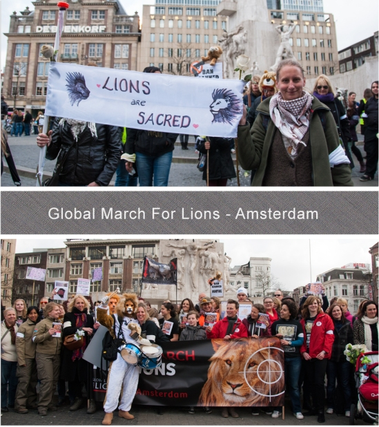 Global March For Lions - Blog 1